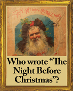 Who wrote The Night BEfore Christmas?